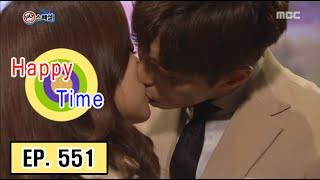 [Happy Time 해피타임] Yoon Hyun Min make mistake kiss scene 20160221