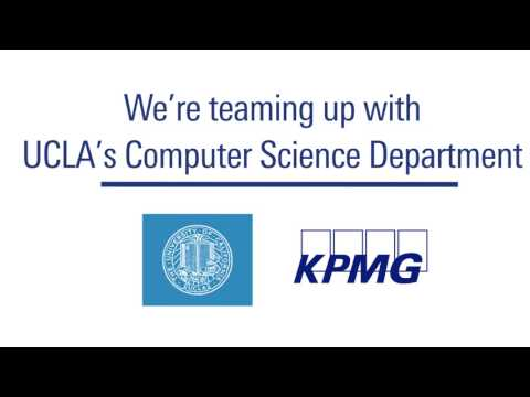 KPMG Data Scientists Team up with UCLA Forging Advanced Analytics and Artificial Intelligence