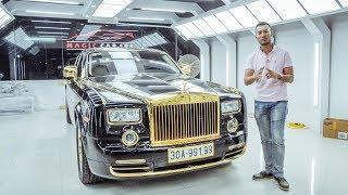 Khám phá Rolls Royce Phantom phiên bản Rồng Vàng độc nhất Việt Nam |XEHAY.VN|