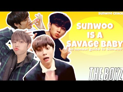 Sunwoo being a savage baby for 11 minutes | THE BOYZ 더보이즈 선우