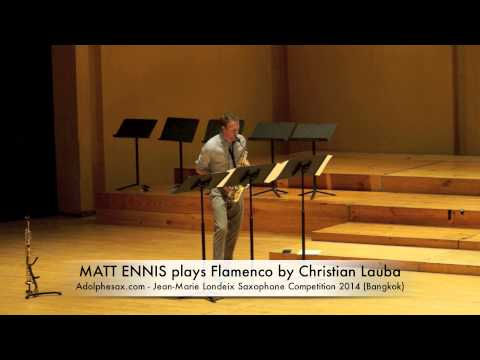 MATT ENNIS plays Flamenco by Christian Lauba