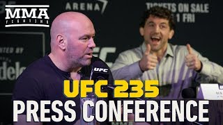 UFC 235 Press Conference - MMA Fighting