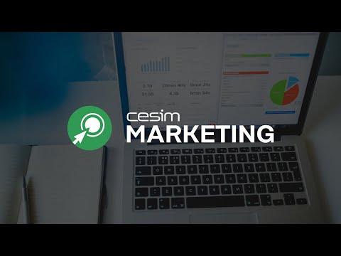 At a Glance: Cesim SimBrand - Marketing Management Simulation Game