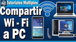 Como Compartir Wifi Desde Mi Celular A Mi Pc o Laptop   Conectar Internet De Celular A Pc Youtube Video Downloader