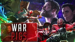 Marvel Cinematic Universe - War Pigs (Tribute)