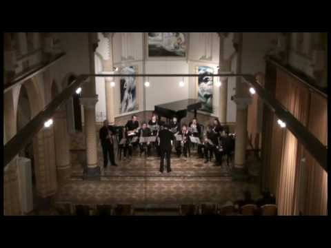 Concerto for Soprano Saxophone and Saxophone Ensemble, Andreas van Zoelen part 1 of 2
