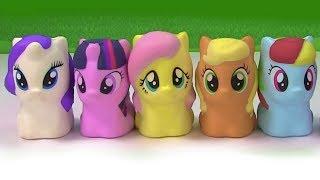 Fizzy Plays My Little Pony Disk Drop Game with Gummy Bear Pinkie Pie