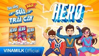 SỮA VINAMILK HERO | NĂNG LƯỢNG MẠNH MẼ - TRẺ LÀM ĐIỀU HAY | MV HOẠT HÌNH HERO | QUẢNG CÁO CHO BÉ