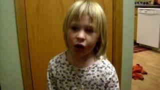 cutie Olivia Marie Singing Hot n Cold