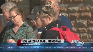 UA's USS Arizona Memorial touches lives on Pearl Harbor Day 5p version