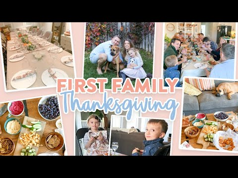 Hosting OUR FIRST Thanksgiving   Thanksgiving 2019 Vlog