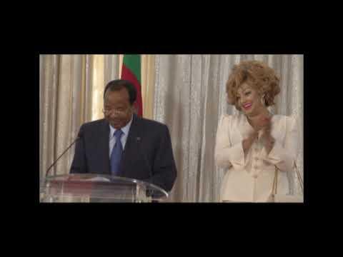 Discours de S E  Paul BIYA à l'occasion de la réception des athlètes médaillés au Palais de l'Unité