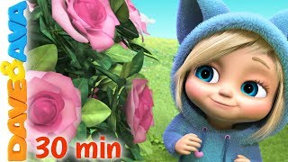 😍 Ring Around the Rosie | Nursery Rhymes and Baby Songs Collection by Dave and Ava💐