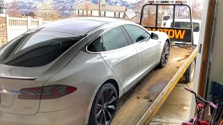 My TESLA battery DIED!!!