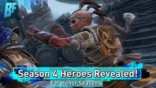 For Honor Season 4: New Heroes Revealed! Tribute Coming! New Maps!
