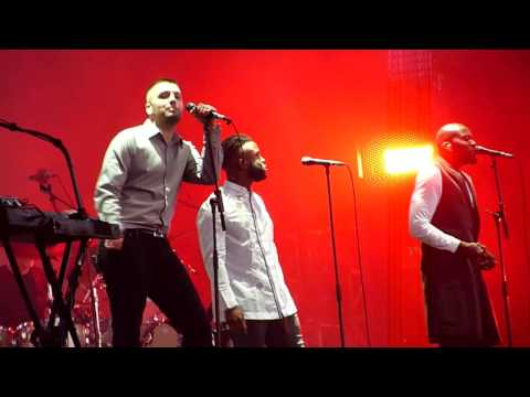 Massive Attack & Young Fathers - Voodoo In My Blood - Hyde Park, London - July 2016