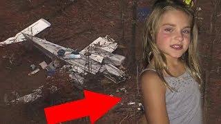 Garotinha de 7 anos sobrevive na floresta depois de acidente de avião