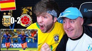 ESPAÑOLES REACCIONAN al ARGENTINA 0-2 COLOMBIA Copa América 2019