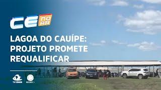 LAGOA DO CAUÍPE: Projeto promete requalificar a área