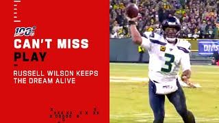 Russell Wilson Keeps the Dream Alive