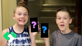 New Phones For The Kids! | Clintus.tv