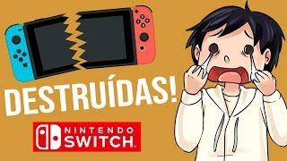 Nintendo Switch siendo destruidas! 😱 VideoReacción