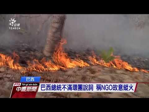 地球之肺大浩劫 亞馬遜雨林野火不絕 20190822 公視中晝新聞
