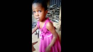 Nollyrainbow kids  watch little baby favour  is roosting plantain so funny