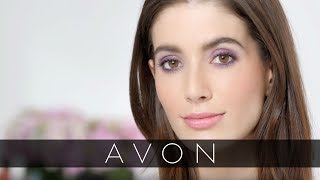 How to Get Purple Smoky Eyes