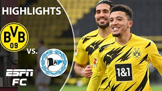 Jadon Sancho makes history in Borussia Dortmund's win vs. Arminia | ESPN FC Bundesliga Highlights