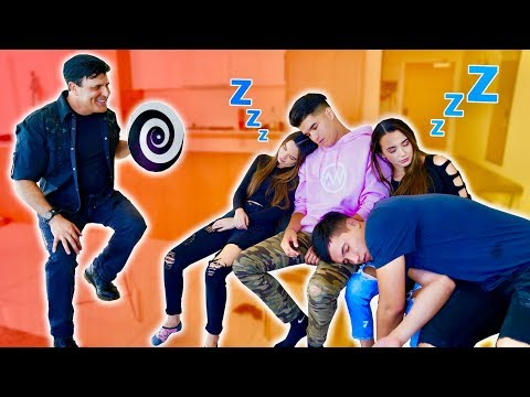 WE GOT HYPNOTIZED! **Camera Man PASSES OUT**