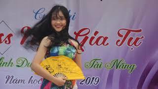 Phần thi tài năng của Miss Ngô Gia tự năm 2019