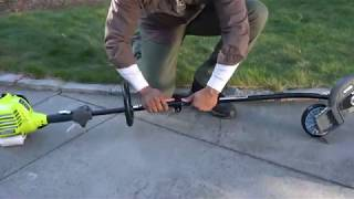 "Video: 40V Attachment Capable 10"" Pole Saw with 2.6Ah Battery & Charger"