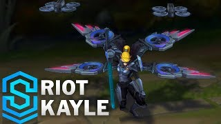 Riot Kayle Skin Spotlight - Pre-Release - League of Legends