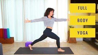 Full Body Yoga - 30 Min Deep Stretch for Flexibility and Strength