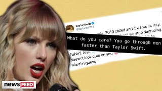 Taylor Swift BLASTS Netflix For Sexist Joke About Her!