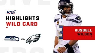 Russell Wilson Secures Wild Card Win w/ 370 Total Yds & 1 TD   NFL 2019 Highlights