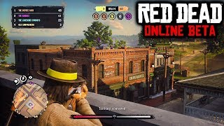 EASY MONEY & GOLD RED DEAD ONLINE! RDR2 Online How To Get Money FAST! (RDR2 Multiplayer Grind Live)