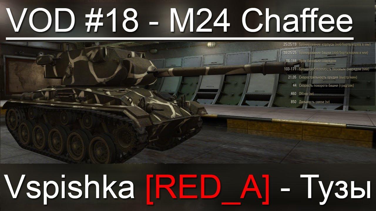 VOD M24 Chaffee World of Tanks / Vspishka [RED_A] Спец. выпуск 6.