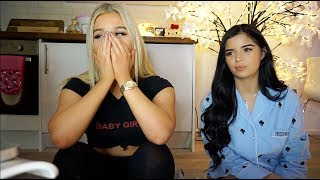 REACTING TO OLD VIDEOS WITH MY BEST FRIEND (Demi Rose)