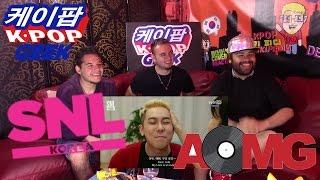 AOMG @ (SNL코리아) SNL Korea 3 Minutes Boyfriend Loco, Gray, Jay Park REACTION