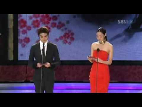 Lee Min Ho & Kim Hyun Joong & Kim Joon @ BaekSang Arts Awards
