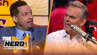 Chris Broussard: 'There are 3 teams on the elite level — Lakers, Clippers & Bucks'   NBA   THE HERD