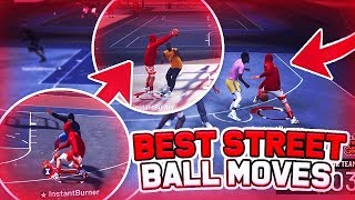 How To Do Streetball Moves In MyPark NBA 2k19 Tutorial | Best Dribble Moves 2k19