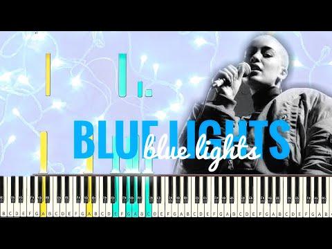 Jorja Smith - Blue Lights [#reggiewatkins piano synthesia tutorial]