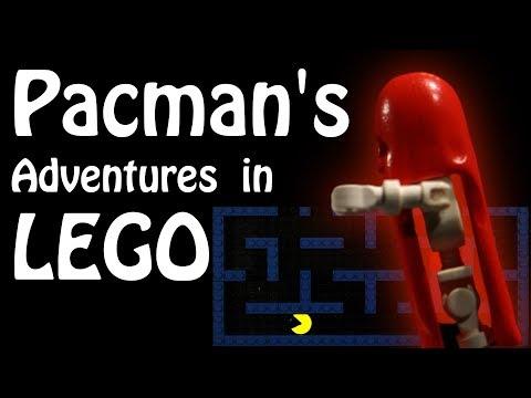 Pacman's adventures in LEGO - YouTube
