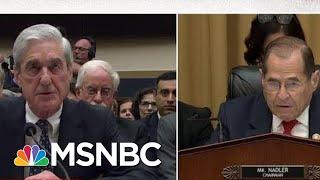 Robert Mueller testifica bajo juramento que su informe no exonera al presidente Trump