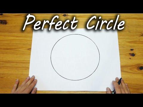 Kako nacrtati savršen krug bez šestara za 3 sekunde