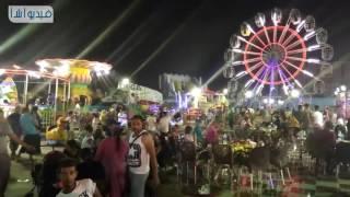 بالفيديو : كورنيش مرسى مطروح في ثاني أيام عيد الفطر     -