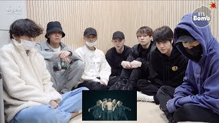 [BANGTAN BOMB] BTS 'Black Swan' Art Film Reaction - BTS (방탄소년단)